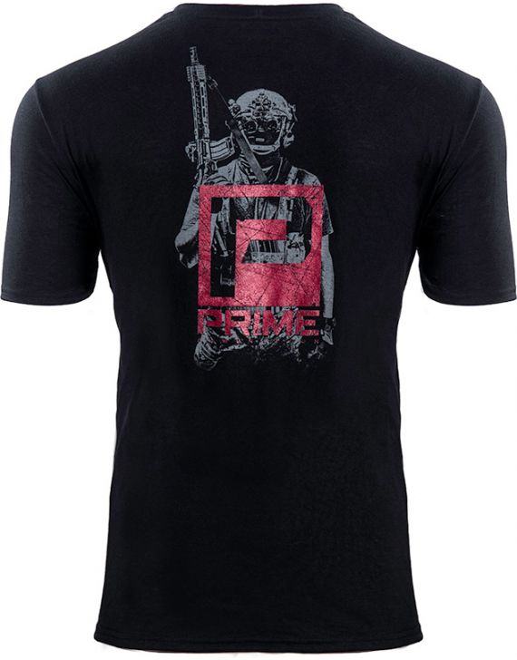 PRIME Warfighter T-Shirt Black