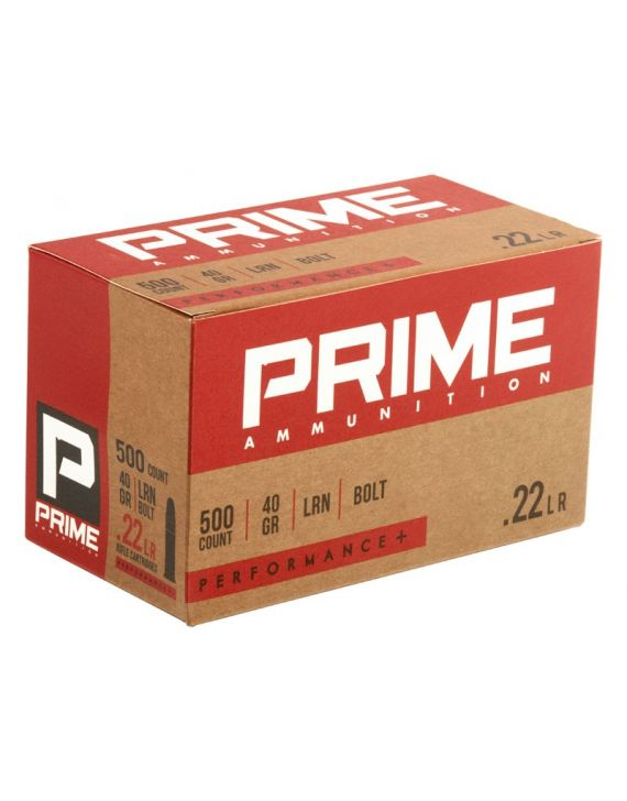 PRIME .22LR Bolt 40GR PERFORMANCE+