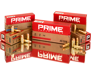 PRIME Ammo Pistol Group